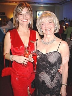 Lissy Garrison, Executive Director, left, with her sister Shelley Custer