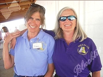 Diane Benedict, Founder of PAALS, and Trisha Todd, right, Board member