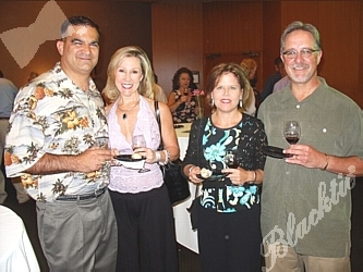 Chris Yakabe, Jill Sumner, Dave and Holly Grady