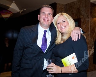 Ted Vanderveen from 7News with wife Hilary