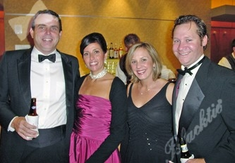 Jeff Howard, left, Liz Howard, Carrie Krambeck and Scott Krambeck