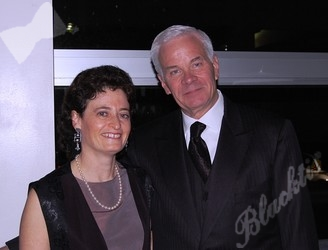 General counsel Janet Perlstein with board member David Christofferson