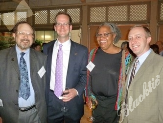 Board members (l to r): Dr. Ken Krause, Seth Belzley, Roz Wheeler-Bell and Aaron Hyatt