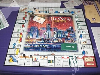 Denver of Board game board