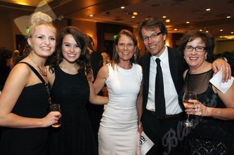 Madeline Walters, left, with Catherine Matous, Jessica Sherwood, Dr. Jeff Matous and Marie Matous