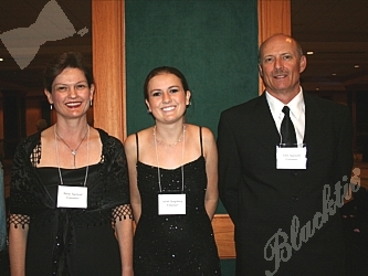 Mary Naslund, Sarah Kingsbury and John Naslund