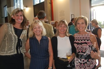 Mary Spillane, left, Linda Rising, Edie Bell and event planner Kelli Kindel