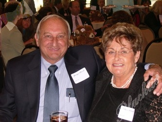 George and Charleen Merlo. Charleen was a member of the Hope Awards Committee