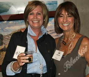 Jan Parsons with Roslie Smith