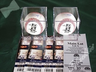 Signed & sealed baseballs