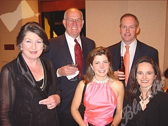 Jack and Wendy Trigg, left, with Karen Fox, Monty Cleworth and Kristin Bronson