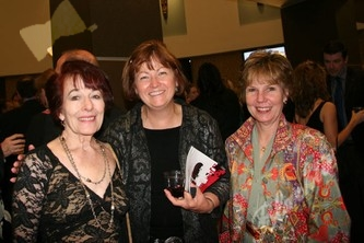 Awardee Zonta Club of Denver II members, Marie Kriss, left, Carol Leffler, Jan Hoyt