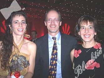 Susan Fox Pinkowitz, left, with Dick and Linda Heider