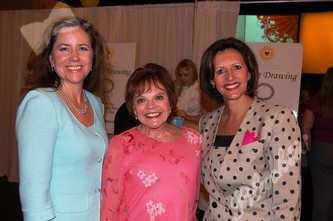 Angela DellaSalle, left, Dr. Bonita Carson and Pat Peterson, new President and CEO of the Kempe Foundation