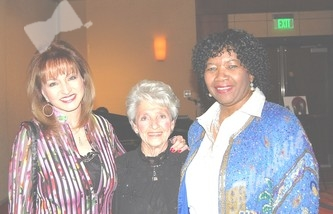 Marsha Temple, left, Ginny Messina and committee member and Alliance Board President Ryta Sondergard