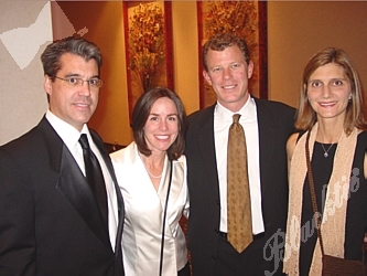 Brian and Ruth Spano, left, with Abbott and Carla Lawrence