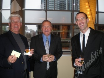 Jack McDonnell (left), Mike Ammon and MIchael Cook