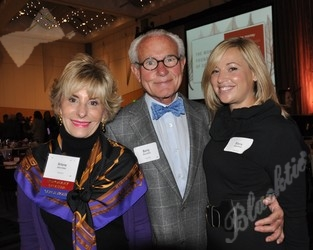 Sponsors Arlene and Barry Hirschfeld with Elana Hirschfeld