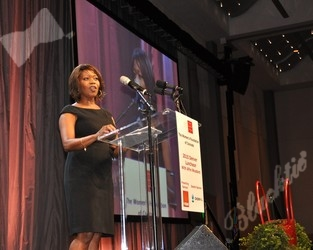 Award winning actress and activist for numerous causes, Alfre Woodard, special guest speaker for the WFCO luncheon
