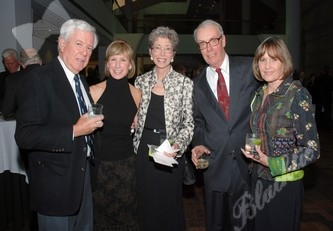 Jack Ferguson, left, Mary Pat Link, Julia Secor, George Secor and Lesli Ferguson