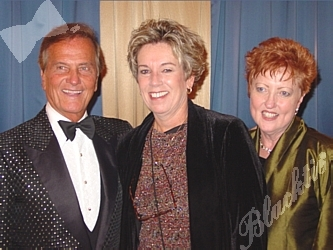 Honorary Chair Pat Boone with The Adoption Exchange's Jacki Propernick, Director of Development and Dixie van de Flier Davis, Ed.D., Executive Director