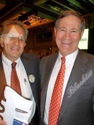 Two of the three 2012 Champion of Youth award-winners: Jim Bershof (left) and Bob Shopneck (Jim Howell suffered a back injury and was unable to attend.)