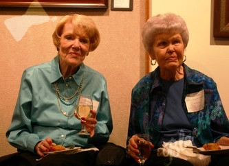 Carrie Martin and Gladys Evers