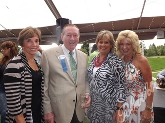 Betsy Hogan, Walt Imhoff, Adrienne Fitzgibbons and Terri Fisher