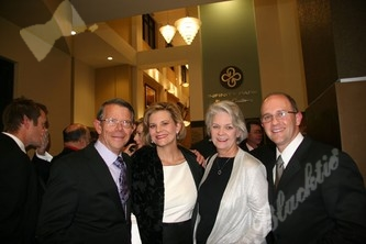 Garry Horle, Kate Horle, PR and Marketing Chair, Carol Horle and Brian Davis