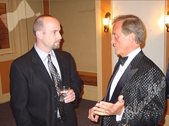 J.D. Padgett and Pat Boone discuss education