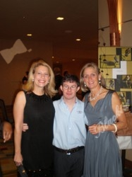 Lori Caenwel (left), Ted Polito and Jeannie Ritter