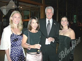 Lisa Kunkel, left, Natalie Elkins, Bob Kelley, Karen Fox