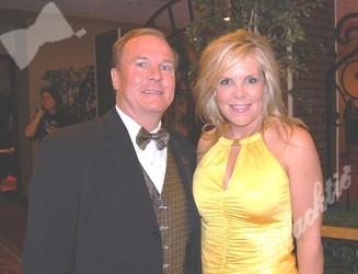 Blacktie's Jerry DeWitt with Karen Storsteen