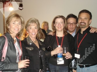 The Great West Healthcare group: Marcia Sutliff, left, with Betsy Hodan, Suzanne Sanchez, Rick Sanchez and Mike Sutliff