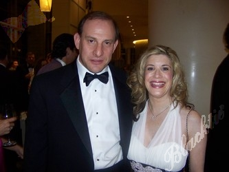 Marc Levine and his fiancee, Linda Schatz