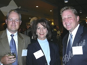 Mike Burns, Jacqueline Medina and Darin Visscher