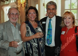 Tribute Honorary Chair Meyer and Geri Saltzman, with MHAC President and CEO Don and Ruth Mares