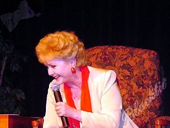 Debbie Reynolds, 69,  grew up poor but happy in El Paso, Texas. Her mother made her gown for her first Academy Awards appearance. She has had three husbands, two children,  and a busy career, all of which she covered in a freewheeling discussion at the Hyatt Regency with her daughter, actress and writer Carrie Fisher.