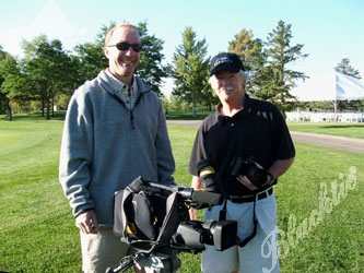 Videographers Lance Johnson and Steve Samuelson of Image Corp