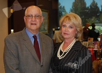 Major sponsor Dr. Bruce Dubin of Rocky Vista University with FF co-founder Kristina Davidson