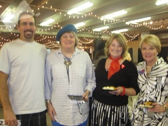 L to R: Tony Graham, Sue Pappas, Amelia Schafer, Joanie Taylor