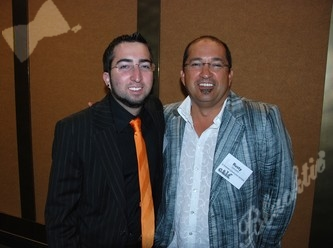 Mitchell Gonzales (l) and Rusty Gonzales