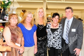 Leila Foote, left, Diane Smith, Caryn Brader, Lena Garcia (Boulder Store Manager), Ron Underwood