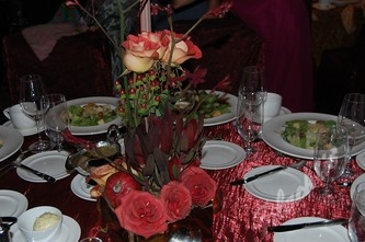 Beautiful centerpieces by Bouquets