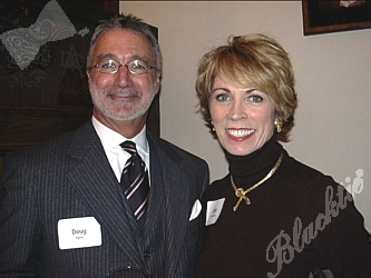 Fashion Consultant Doug Paris with Real Estate Broker Judy Fahrenkrog