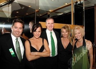 Greg Brewer (left), Susan Weese, Tom Castle, Kim Brewer and Michelle Castle