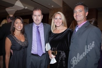 Tanya Sexton (left) with Jim Sexton, Lisa Decker and Ray Decker