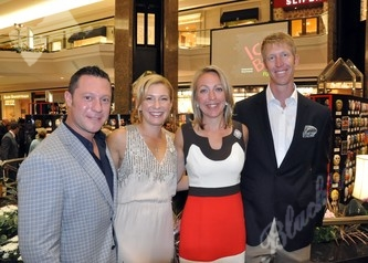 Gala co-chairs Jeff & Jennifer Geller with friends Kathryn Albright and Dr. Eric Albright