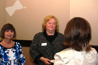 Ann DeGroat (left), Dianna Kunz (president and CEO), Marni Jameson