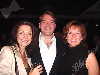 Pamela Joffe, left, with Eric Head and Deborah Russell